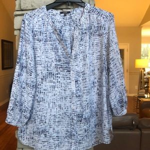 Women's NYDJ pin tuck blouse-XL
